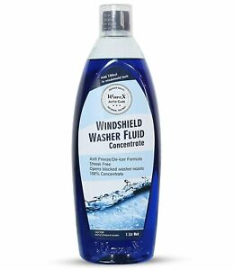 Windshield Concentrate Washer Fluid (1ltr ,Anti- Freeze) 100ml Per Single Use