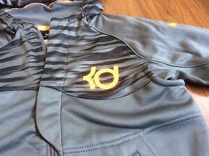 Nike KD Kevin Durant Boys Full Zipper Sweatshirt Hoodie Jacket Youth Sz 4