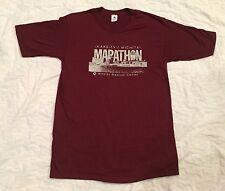 Vtg Wichita Marathon T-shirt KAKE-TV Wesley Medical Center Thin Soft 1983 Fifty