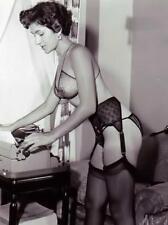 Vintage Pin Up Girl Photo Bizarre Odd Freaky Strange 4 x 6