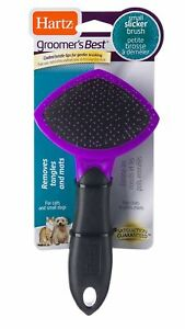 Hartz Groomer's Best Grooming Tools Cats and Small Dogs Slicker Brush 12411 NEW