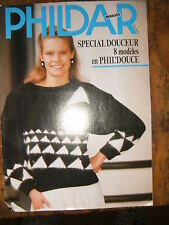 Phildar Mailles Spécial doucuer 8 modèles en Phil'douce Tricot Patron