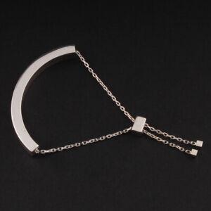 GEORG JENSEN Sterling Bracelet # 593C. Silver. Aria. 3531192. NEW