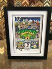 "Charles Fazzino 3D Artwork "" Derek Jeter "" Signed & Numbered Steiner NY Yankees"