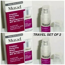 X2 MURAD Age Reform Invisiblur Perfecting Shield TRAVEL SIZE  0.17oz Exp 2020
