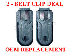 2 Pack - OEM Belt Clip Garmin Rino 110 120 130 520 530 520hcx 530hcx 60csx GPS