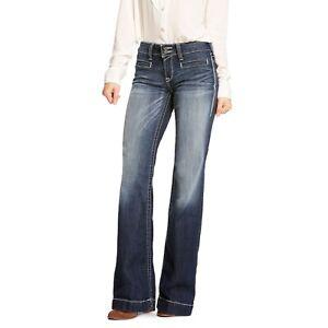 Las Mejores Ofertas En Ariat Blue Jeans Para De Mujer Ebay
