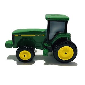 John Deere Tractor Piggy Bank Ceramic