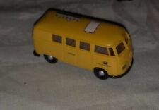 Brekina Yellow HO Volkswagen Bus VW W Antenna On Roof