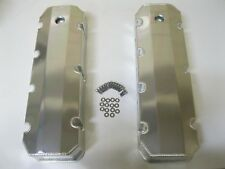 Fabricated Aluminum Valve Covers BBC Big Block Chevy 396 427 454 w Breather Hole