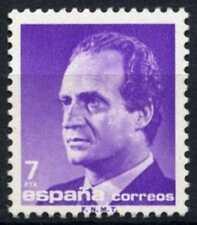 España 1985-92 SG#2815, 7p el rey Juan Carlos I estampillada sin montar o nunca montada definitiva #D64386