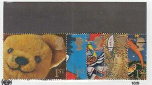 GREAT BRITAIN (MK7145,A) # 1364-1368 VF-USED 1ST FAMOUS SMILES SET /10 STAMPS