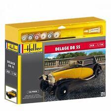 Heller Kit de montage Delage D8 SS VOITURE PARTICULIÈRE 1:24 Modèle Kit Art.