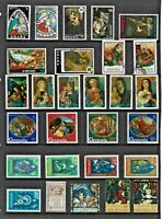 CHRISTMAS Thematic COMMONWEALTH Stamp Collection MINT USED Re:TT773