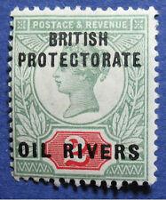 1892 NIGER COAST PROT 2d SCOTT# 3 SG# 3 UNUSED CS05689