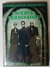 The Matrix Reloaded (DVD, 2003, 2-Disc Set, Widescreen) WORLDWIDE SHIP AVAIL