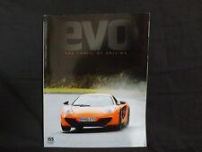 EVO MAGAZINE ISSUE 155 2011 COLLECTOR'S EDITION. MCLAREN MP4-12C. AVENTADOR.