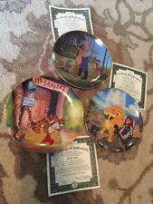 Bradford exchange collectible Disney plates.