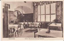 Alte Ak Postkarte München Hotel-Restaurant Herzog Heinrich um 1920