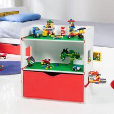 Zimmer 2 Bauen Bettseitig Bücherregal Speichereinheit mit Schublade Kinder