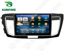 Android 5.1 Quad Core Car DVD Stereo Player GPS Navigation For Honda Accord 2014
