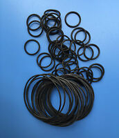 10pcs Heat Oil Resistant 5mm NBR Nitrile O-Ring Rubber Sealing Ring O.D 70-200mm
