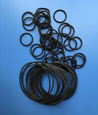 10pcs Heat Oil Resistant 4mm NBR Nitrile O-Ring Rubber Sealing Ring O.D 60-200mm