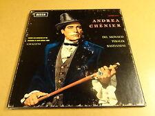 3-LP BOX DECCA SXL 2208 / ANDREA CHENIER - GIORDANO