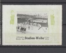 German Poster Stamp 1913 Olympics Berlin Athletes RRR
