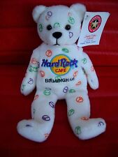 HRC Hard Rock Cafe Birmingham Peace Bear Beara Bär Teddy Herrington LE