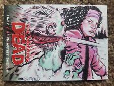 Walking Dead Comic Sketch Card by Michael Maglio AP Artist Proof