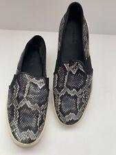 VINCE Snake Skin Slip Ons Women Sneakers Size 8