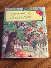 "Celebrating My Teacher Minibook 2.5"" x 3"" Heartland Samplers"
