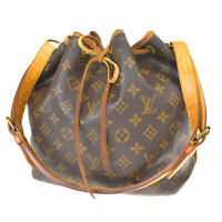 Authentic LOUIS VUITTON Noe PM Shoulder Bag Monogram Leather BN M42226 39MF022