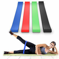 Exercise Latex Resistance Bands Pilates Workout Gym Yoga Fitness Stretch Sports