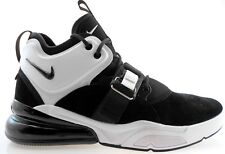NIKE AIR FORCE 270 MEN'S BLACK/WHITE BASKETBALL SHOES, AH6772-006