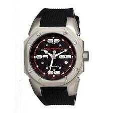 NEW Morphic MPH1001 Men's M10 Series Black Rubber Fixed Grey Bezel Fashion Watch
