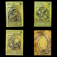 YU GI OH Gold Card Metal Card Local Japanese Golden Eye White Dragon VOL Edition