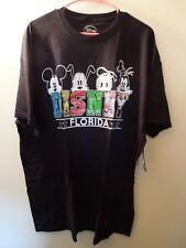 NWT - Disney - T-Shirt - XXL - Disney Florida Design - Black