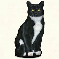 Tuxedo Cat Shaped Doorstop or Pillow