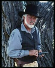 Kenny Rogers The Gambler TV Ouest Portrait Original 5x4 Transparence