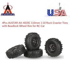 4X AUSTAR AX-4020C 1.9 Inch 110mm 1/10 Rock Crawler RC Car Tires Wheel Rims