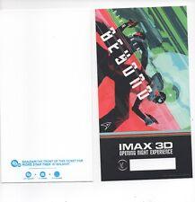 Star Trek BEYOND Opening Night Experience Tickets Imax 3D 2016 Blank