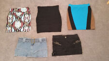 Unbranded Denim Regular Size Skirts for Women