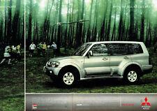 Publicité Advertising 018  2004    Mitsubishi Motors le 4x4   Pajero ( 2 pages)