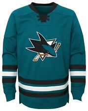 Outerstuff NHL San Jose Sharks Classic Hockey Crew Sweatshirt Youth Boys Small