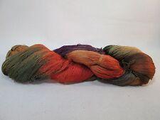 Hand dyed Rayon Yarn - Weaving, embroidery, knitting, crochet - 11.2 oz.
