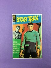 """Star Trek #9 (1971):  Gold Key! """"The Legacy of Lazarus!"""" Spock Cover!  VG+(4.5)!"""