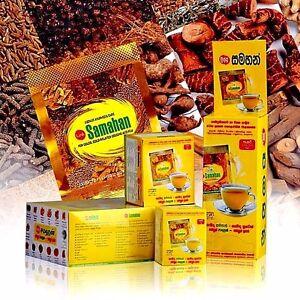 Link Samahan Instant Ayurvedic Herbal Tea Sachets Cough &Cold Sore Throat Remedy