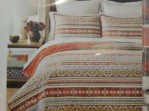 NIP Martha Stewart Silver City Stripe Full/Queen Quilt
